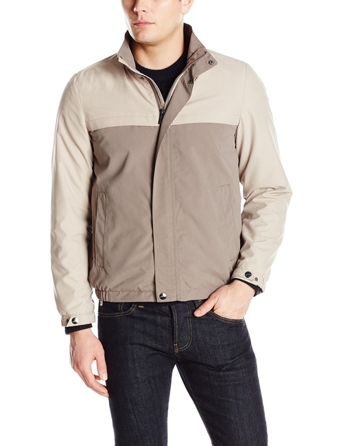 Microfiber Color Block Jacket by Perry Ellis in The Big Bang Theory - Season 9 Episode 23