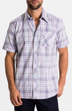 Regular Fit Short Sleeve Sport Shirt by Zagiri in Hot Pursuit