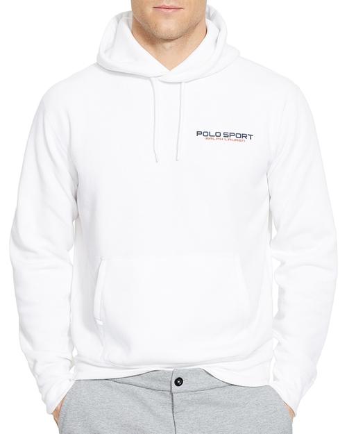 Sport Fleece Pullover Hoodie by Polo Ralph Lauren in Inherent Vice