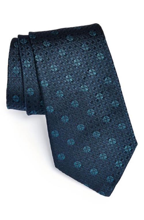 Woven Silk Tie by John Varvatos Star USA in Mortdecai