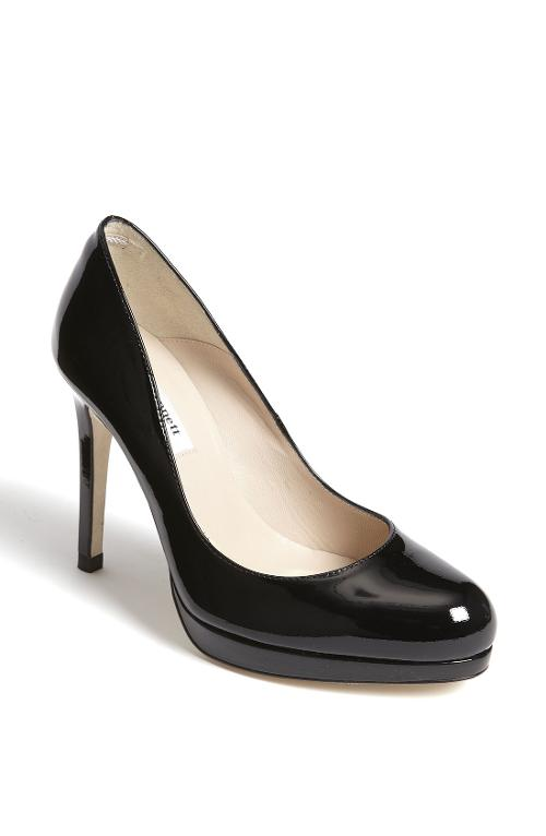 Sledge Pump Shoes by L.K. Bennett in New Year's Eve
