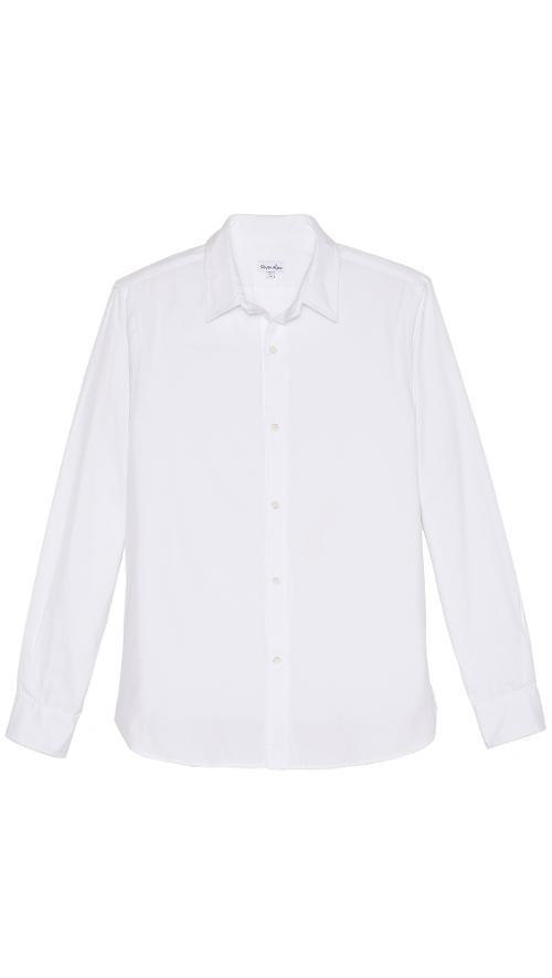 Pinpoint Oxford Classic Shirt by Steven Alan in Anchorman 2: The Legend Continues