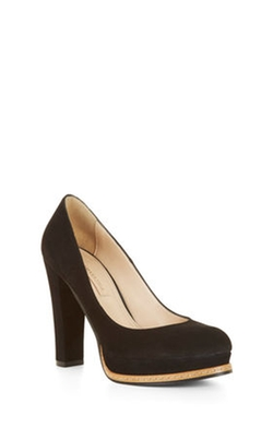 Lise High-heel Suede Pump by BCBGMaxazria in How To Get Away With Murder