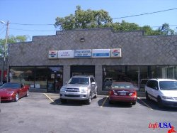 Stone Mountain, GA by Stone Mountain Body Shop (Depicted as Marshall Motors Body Shop) in Need for Speed
