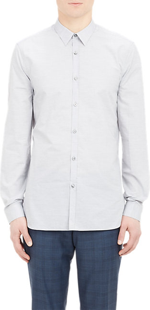 Mélange Poplin Shirt by Paul Smith Exclusive in We Are Your Friends