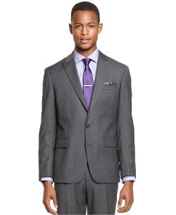 Solid Peak Lapel Slim-Fit Jacket by Ryan Seacrest Distinction in Little Fockers