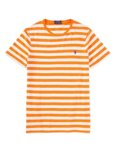 Striped Cotton Jersey T-Shirt by Polo Ralph Lauren in The Fundamentals of Caring