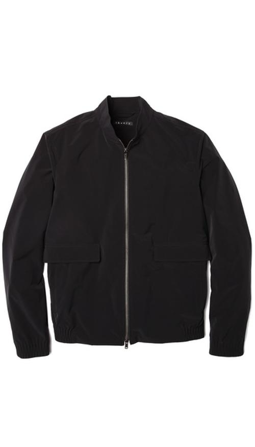 Traverse Zip Bomber Jacket by Theory in Addicted