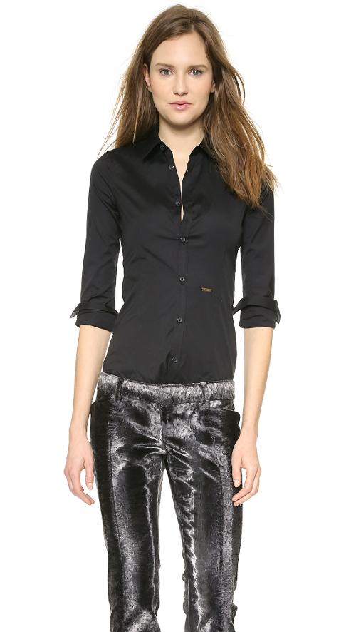 Long Sleeve Classic Shirt by Dsquared2 in And So It Goes