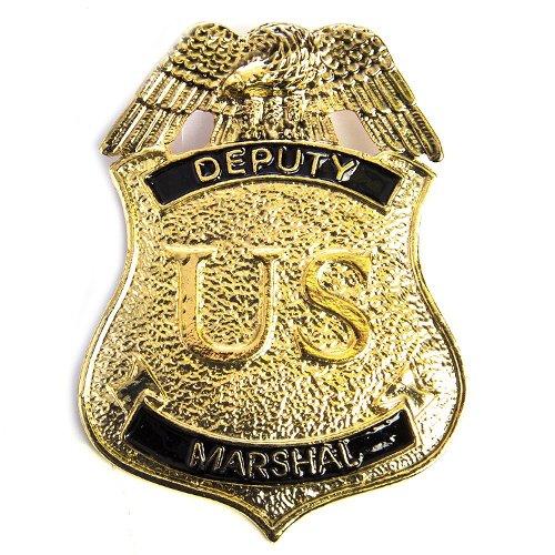 Men's Deputy Marshal Badge by HMS in Shutter Island