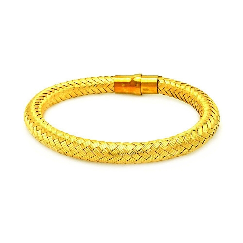 Weaved Italian Bracelet by Prime Pristine in Ted 2