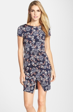 Print Short-Sleeve Sheath Dress by Kut From The Kloth in My All American