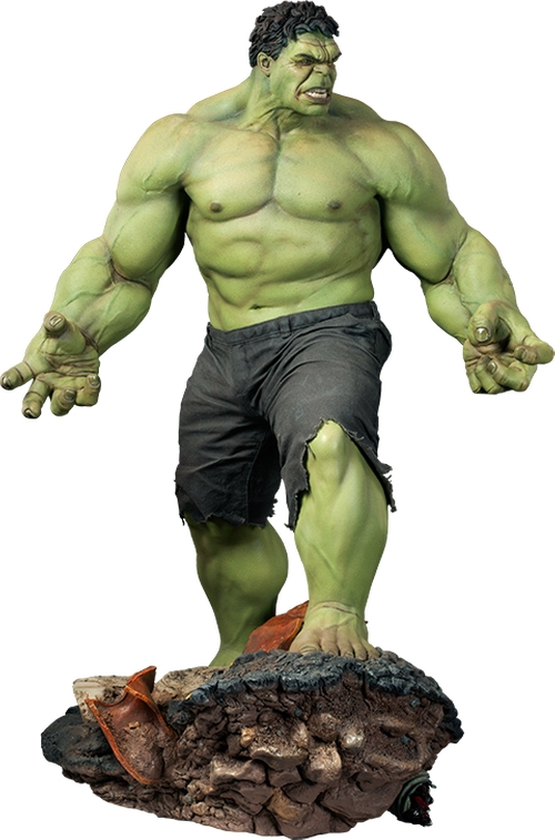 Hulk Maquette by Sideshow Collectibles in The Big Bang Theory - Season 9 Episode 4