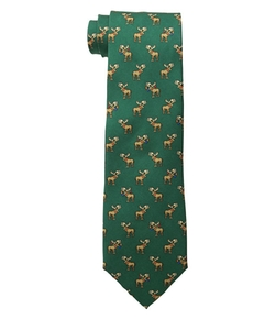 Moose Print Tie by Tommy Hilfiger in Christmas Vacation