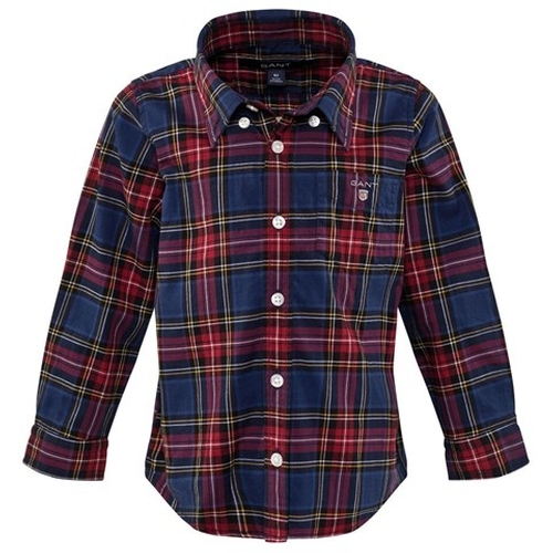 Plaid Check Shirt by Gant in Supergirl - Season 1 Episode 5