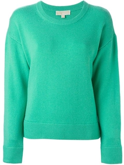 Crew Neck Sweater by Michael Michael Kors in Supergirl