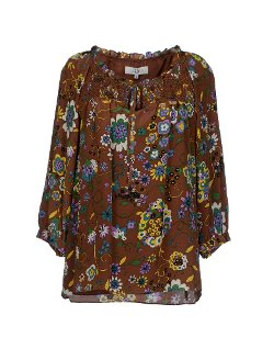 Floral Blouse by Tibi in The Gambler