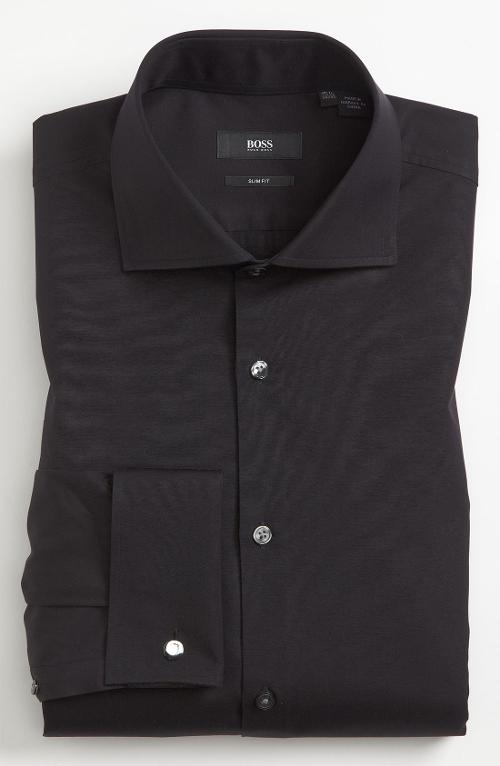 Slim Fit Dress Shirt by Hugo Boss in Get On Up