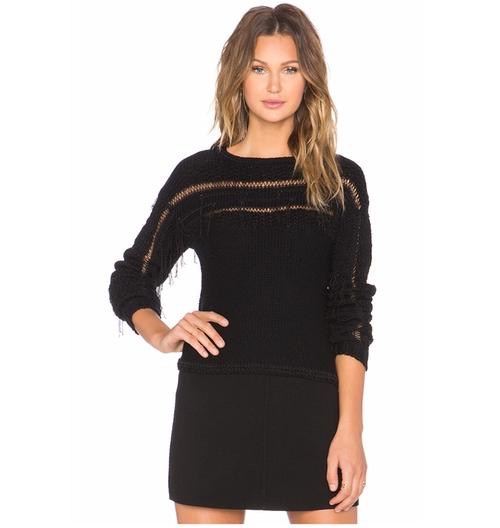 Jessica Fringe Sweater by Ramy Brook in The Bachelorette - Season 12 Episode 6