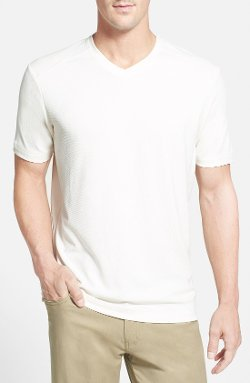 'Pebble Shore' V-Neck T-Shirt by Tommy Bahama in Get Hard