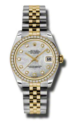 Mother of Pearl Dial Automatic Stainless Steel by Rolex in And So It Goes