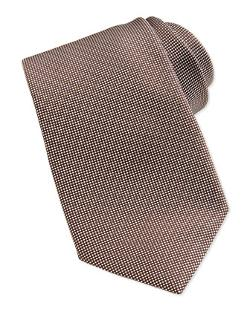 Solid Woven Silk Tie by Ermenegildo Zegna in Into the Storm
