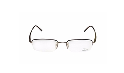 Optical Designer Half-Rim Eyeglasses by Jaguar in Speechless