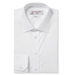 Structured Collar Cotton Shirt by Turnbull & Asser in The World is Not Enough