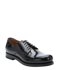 Black Leather 'Shade Lux' Lace-Up Oxford Shoes by Gucci in Suits