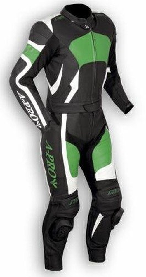 Motorcycle Apparel Leather Racing Track Suit by A-Pro in The Counselor