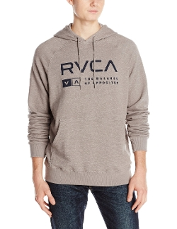 Associate Fleece Hoodie Jacket by RVCA in Adult Beginners