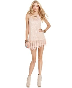 Racerback Sequin Slip Dress by Free People in The Other Woman