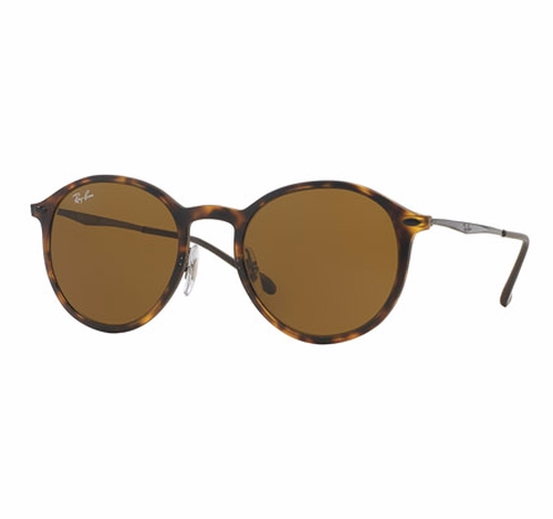 Classic Round Sunglasses by Ray-Ban in Gold