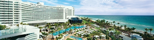 Fontainebleau Hotel Miami Beach, Florida in Scarface