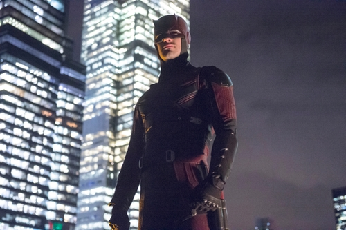 Custom Made Daredevil Costume by Stephanie Maslansky (Costume Designer) in Daredevil - Season 2 Preview