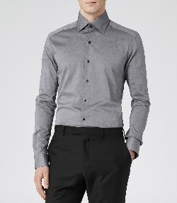 Slim Fit Formal Shirt by Hareford in The Great Gatsby