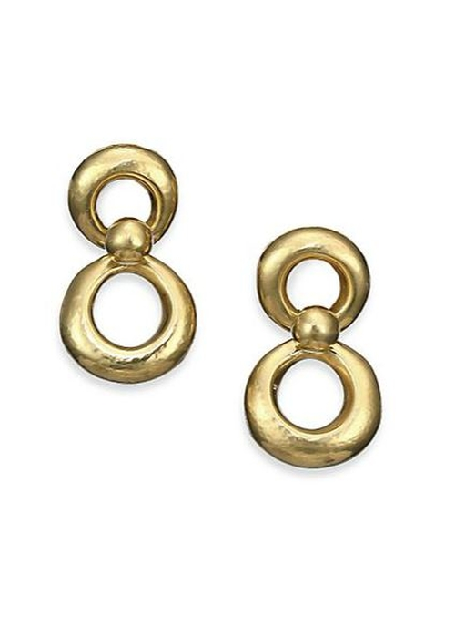 Small Eight-Shape Drop Earrings by Vaubel in The Good Wife