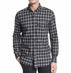 Samuel Check Flannel Shirt by Belstaff in Pretty Little Liars