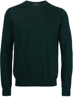 Crew Neck Sweater by Z Zegna in Arrow