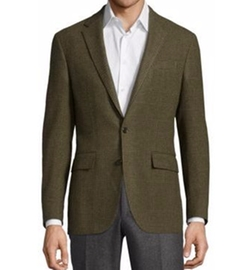 Long Sleeve Wool Blazer by Polo Ralph Lauren in New Girl