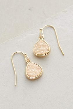 Dollop Drop Earrings by Anthropologie in Arrow