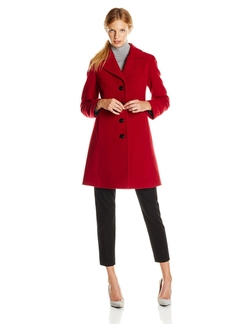 Classic Single-Breasted Notch-Collar Coat by Larry Levine in Boyhood