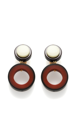 Hoop Resin Earrings by Marni in The Man from U.N.C.L.E.