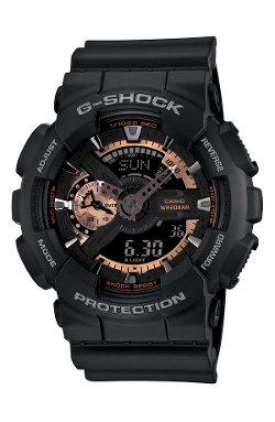 G-Shock Rose Gold Dial Watch by Casio in Dope