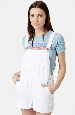 Moto Dungaree Short Overalls by Topshop in Pretty Little Liars