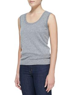Sleeveless Cashmere Top by Escada in The Giver
