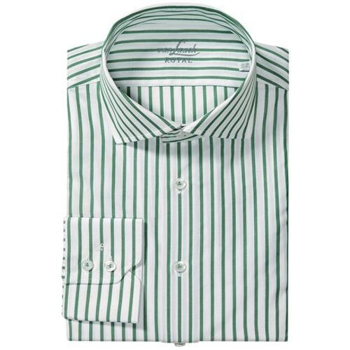Rivara Multi-Stripe Shirt by Van Laack in What If