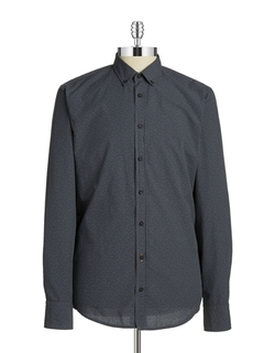 Edipoe Checked Sportshirt by Hugo Boss in How To Get Away With Murder