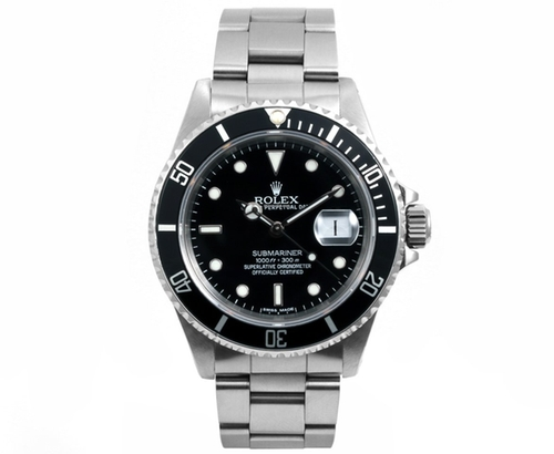 Stainless Steel Submariner Watch by Rolex  in The Big Short