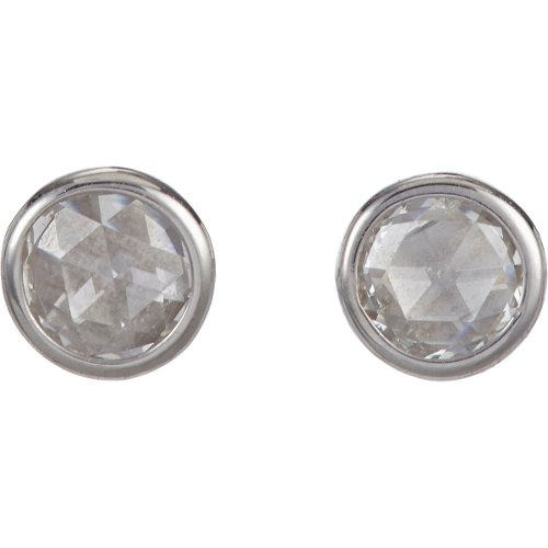 Diamond & White Gold Stud Earrings by Finn in American Sniper